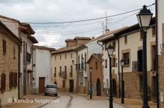 Quiet Obanos street