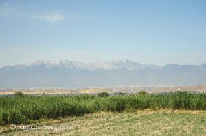 Aphrodisias is on the other side of the Taurus mountains