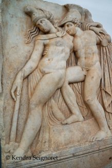 Achilles and dying Amazon Queen, Penthesilea