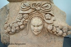 Carvings in Aphrodisias