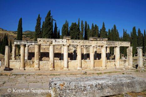 Hierapolis - line of columns