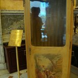Original painted sedan chair