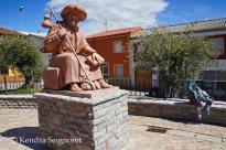 Yet another pilgrim statue