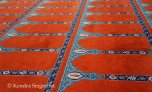 Even the carpet is lovely
