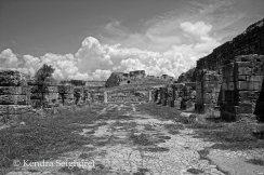 Miletus - baths view to fortress