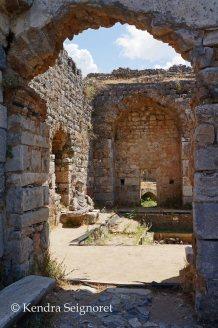 Miletus - baths entrance