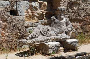 Miletus - baths statue