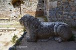 Miletus - baths lion statue