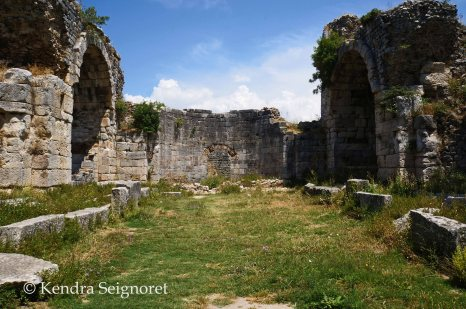 Miletus - baths of grass