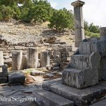 Priene - altar remains