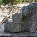 Priene - altar