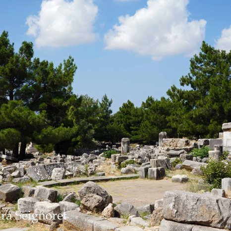 Priene - results of time
