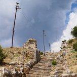 Priene - stairway to city