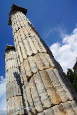 Priene - Temple of Athena closeup