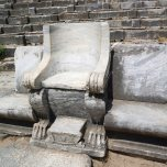Priene - theatre chair for important people