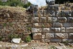 Priene - walls from different periods