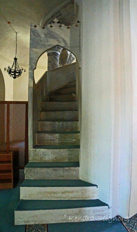 Little Ayasofya Staircase