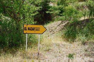Sign to El Nazar