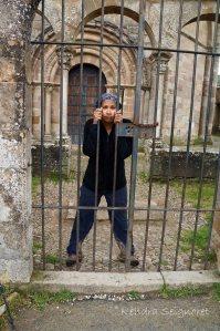 Jailed at Eunate
