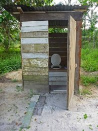 Outhouses for some homes