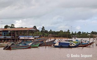 Parika - Boat Parking Lot