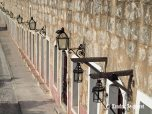 Line of Lamps