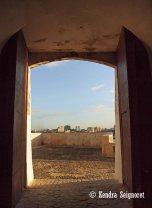 Views Between Doors