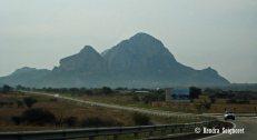 On the way to Tepoztlan