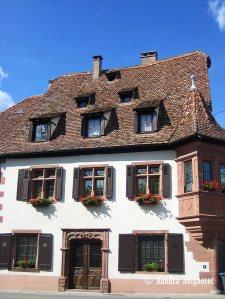 Maison de l'Ami Fritz - old tanner's house 1550
