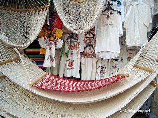 hammocks and clothes