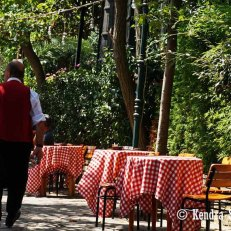 Waiter at Pierre Loti