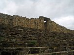 Monte Alban - steps