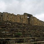 Monte Alban - steps