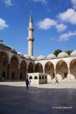 Suleymaniye outside