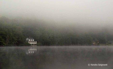 Foggy Vermont Lake