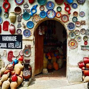 Avanos Pottery Door