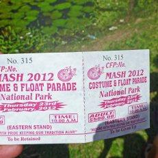 Mash ticket
