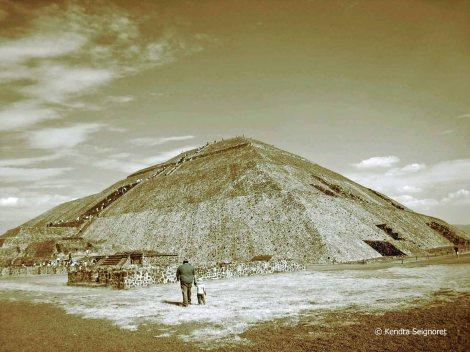 Pyramid at Teotihuacan