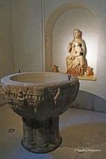 12th century baptismal font