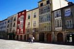 colourful buildings in Burgos