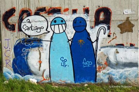 Camino Frances graffiti