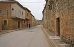 the street of Hornillos del Camino
