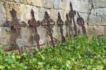 crosses in Hornillos del Camino