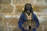 brown Jesus in Fromista