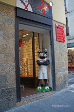 Pamplona is famous for bulls
