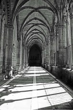 13th century cloister of Pamplona Cathedral