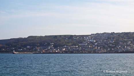 View from the Penzance Promenade