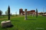 Roman ruins in Hermanillos de la Calzada