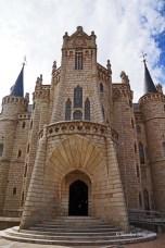Gaudi building in Astorga