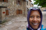 me in Rabanal del Camino - it was cold